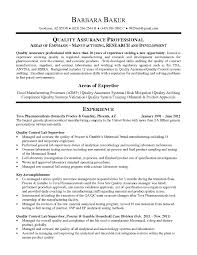 Quality Manager Resume Examples Ideas Of Captivating Quality Manager Resume Samples with Quality 11