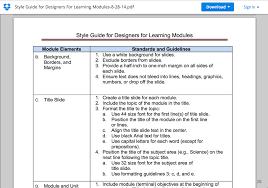 Deliverables Template Section 5 Deliverables Designers For Learning Studio