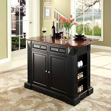 Drop Leaf Breakfast Bar Kitchen Island   Crosley