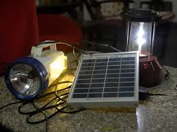 Solar Lighting Kit Extremely Useful As Emergency Lights Or Portable