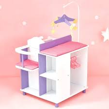 wooden baby doll furniture little world little princess baby doll changing station with 1 2 vintage wooden baby doll