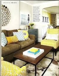 Brown And Blue Living Room Interesting Brown And Yellow Living Room Gray Yellow Living Room Red And