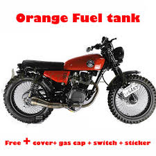 Gas Tank Design Motorcycle Us 72 56 Motorcycle Fuel Oil Cafe Racer Fuel Tank Vintage Parts 9l 2 4 Gallon Modified Tank For Honda Cg125 In Fuel Tank From Automobiles