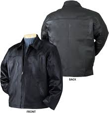 burk s bay napa driving leather jacket