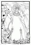 Раскраски к сказке о мертвой царевне и