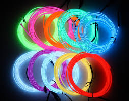 Custom Rope Lights Custom Battery Powered Waterproof Rgb Colors El Wire Neon Rope Light For Party Decoration Buy El Light El Wire Light El Wire Neon Rope Light Product