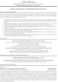 Senior Financial Analyst Resume Sample Fund Analyst Resume Warehouse Worker Resume Examples Sample Resumes