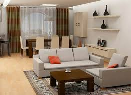 Living Room : IKEA Living Room Decorating Ideas In A Small Space Under The  Fitted Carpet Long Wooden Table And Sofa Then White Wall Shelves Right IKEA  ...