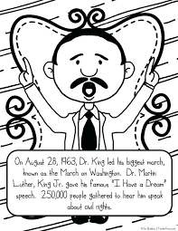 20 New Martin Luther King Jr Coloring Pages Printable Coloring Page