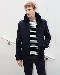 zara short wool coat