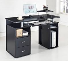 black computer desk table furniture for cool black white home office desk design ideas amazing office table chairs