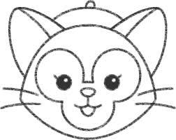ジェラトーニの帽子とヒゲの描き方 ディズニー ツムツム イラスト