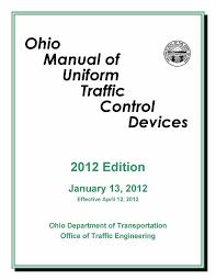 Odot Traffic Control Plans Design Manual Ohio Manual Of Uniform Traffic Control Devices By Matthew