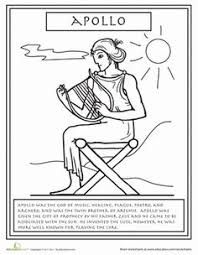 Small Picture Greek Myths Coloring Page Mercury Books Come Alive Pinterest
