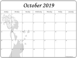 Calendars For Pregnancy October 2019 Pregnancy Calendar Fertility Calendar