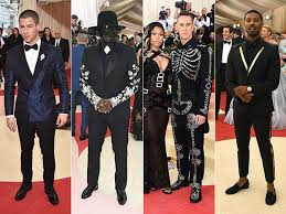 Black Tie Theme Met Gala 2016 Men Who Took The Theme Seriously People Com