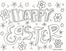 Preschool Religious Easter Coloring Pages Printable Unique Easter