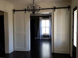 image of sliding barn door hardware canada