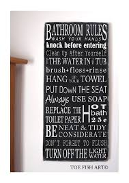 bathroom rules wall art bathroom rules wall art canvas a bathroom photo gallery and articles