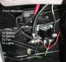 mini starter hook up com two wires go from your regular solenoid down to the mini starter one carries the current and one fires the mini starter s solenoid from the first one