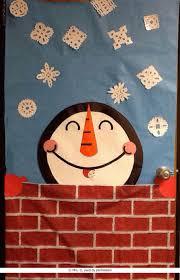 winter classroom door decorations. image of a snowman winter door cover classroom decorations r