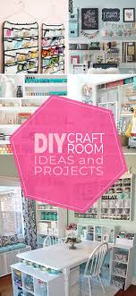 here are some of the best diy craft room ideas projects we found and tons of inspiration