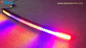 Color Changing Led Light Bar For Truck 50 Inch Curved Multi Color Change Light Bar Youtube