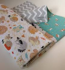 94 best Quilt images on Pinterest | Accessories, Branches and Creative & Baby Quilt, Organic, Gender Neutral, Modern Baby Quilt,Critter Patch, Forest Adamdwight.com