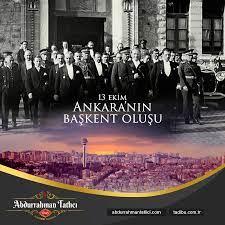 Abdurrahman Tatlıcı Ankara'nın Başkent Oluşu | Pan