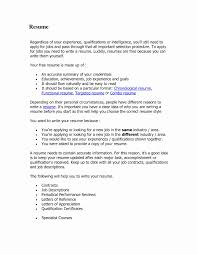 Current Resume Trends Awesome Recent Resume Format Fresh Sample