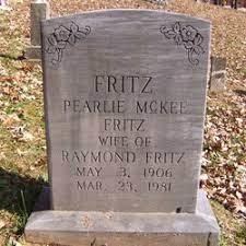 Pearlie Jordan Fritz (1906-1981) - Find A Grave Memorial