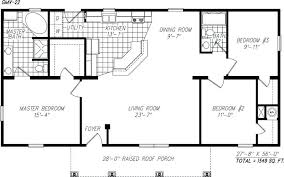floor plan of a one story house. Plans: Floor Plan Open Plans Small One Story House For With Single Decorating 2 Under Of A