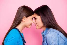 Lesbian Nose Nose Fight