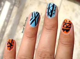 tribal nail art | Insane Dissections