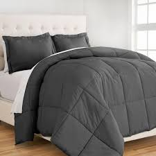 microfiber bedding set. Beautiful Bedding Down Alternative Microfiber Comforter Set For Bedding E