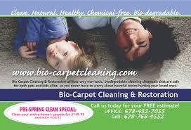 essel art bio carpet cleaning mailer