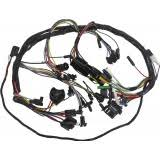ford falcon mercury comet electrical wiring harness sets and dash wiring harness 1964 falcon w 1 spd wipers