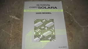 2005 toyota highlander ewd electrical wiring diagram service shop 2006 Toyota Solara 2005 toyota camry electrical wiring diagram service shop repair manual ewd 2005
