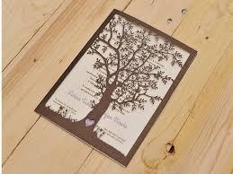 Wedding Invitation Love Tree Set Of 10 By