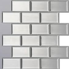 ecoart l and stick self adhesive wall tile for kitchen bathroom backsplash