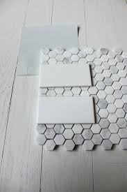 white tile bathroom floor. Bathroom Floor Tile Ideas Traditional Home Depot Shower White Subway With Carrara Hex In Master Bath Ceramic B