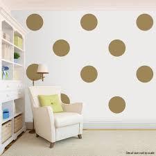 giant polka dots vinyl wall decal polka