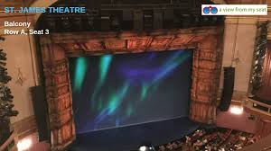 St James Theatre Frozen Seating Chart St James Theatre Seating Chart Frozen Guide Best Seats