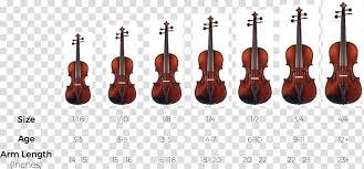 Bow Violin Cello String Instruments Viola Size Chart Design