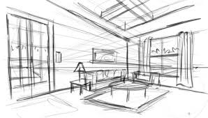 Sketch Interior Design Sketch Interior Design Vitlt Beauteous Design