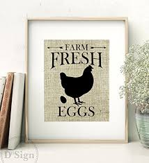 rustic farmhouse wall decor burlap sign farm fresh eggs kitchen art 8x10  on primitive kitchen wall art with amazon rustic farmhouse wall decor burlap sign farm fresh