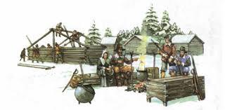 Английские колонии в Северной Америке Новая история Реферат  Первые поселенцы колонии Виргиния