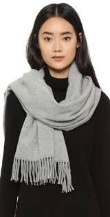 Acne Studios Canada Light Grey Melange Canada Scarf Acne Studios Acne Treatment Pimples