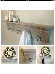 towel rack with hooks. View Larger. Towel Hooks Rack With