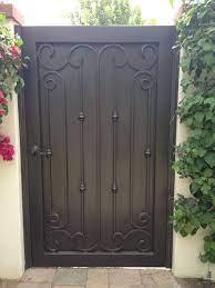 wrought iron metal gates for courtyards